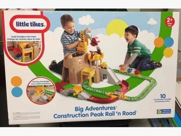 Little tikes big adventure construction rail and road