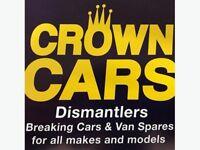 Scrap Vehicles Wanted - Dead or Alive - Cars, Vans etc.