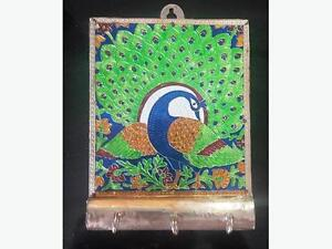 SALE: Peacock Carving Key Holder