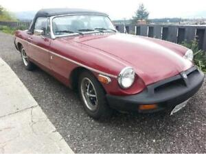 1975 MGB - Rust Free Okanagan Car!