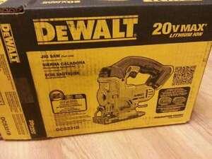 scie sauteuse Dewalt a batterie