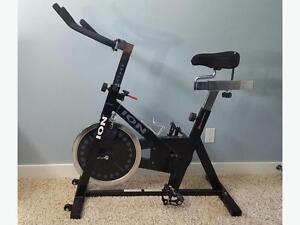 ONLY USED A FEW TIME-BRAND NEW CONDITION-ION FITNESS SPIN BIKE
