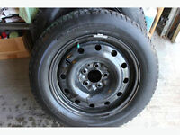 Michelin Tire P215/60R 16 with Rim. Only One Left
