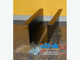 Cash Drawer Under Counter Mounting Brackets Set Fits Most Base Black EC 410 4141