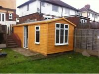 sheds and summer houses made to measure any size or spec