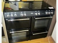 Belling 100cm Dual Fuel Range Cooker Black - Free Delivery In Southampton