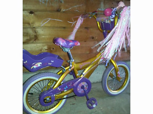 Goldilicious Girls Bicycle