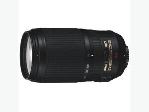 $550 · Nikon F 70-300mm f/4.5-5.6 Image Stabilization Silent Wav