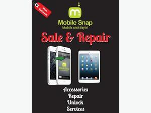 MOBILE SNAP ***THE BAY CENTRE ***UNLOCK REPAIR SMARTPHONESHOP