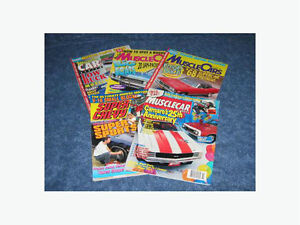 Collectable Muscle Car Magazines - $2 all