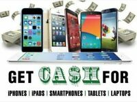 Wanted all iphones Samsung laptops dell lenovo ipads imac macbooks faulty working damaged cracked