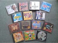 Compilation Music CD,s.