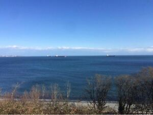 $1100· Waterfront Oceanview bachelor for rent