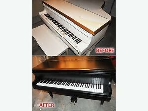 PIANO REPAIR, TUNER, TUNING, POLYESTER. PIANOS FOR SALE