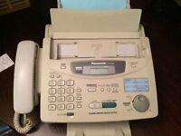 Panasonic KX-FP300E Fax Machine with spare cartridge