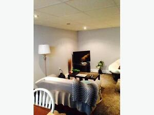 Basement Suite for Rent short and long term contract available