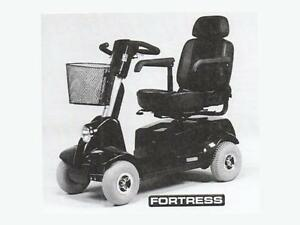 MOBILITY SCOOTER FORTRESS 1700 series