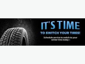 After hours tire changes
