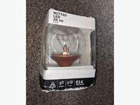 NEW IKEA NITTIO LED bulb E14 20 lm