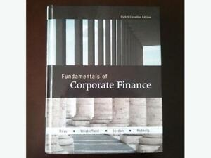 Fundamentals of Corporate Finance (8th edition) by Ross et al.