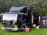 MERCEDES ATEGO 7.5T HORSE LORRY, VERY GOOD CONDITION