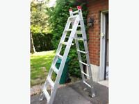 Aluminum Bon-L multi-way Grade2 7' / 11' ladder
