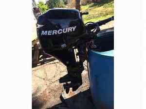 2006 mercury 9.9 four stroke short shaft in perfect condition