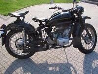 Dnepr MT9 650cc ( ural neval kossack soviet)