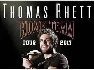 Two (2) Thomas Rhett Tickets in PIT #1 - Monday, May 8th