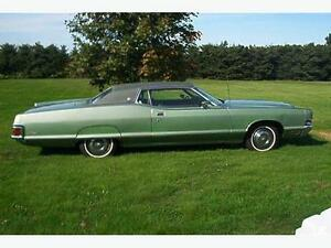 1972 MERCURY GRAND MARQUIS ONLY 38000 MILES