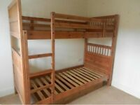 Ikea hemnes bunk bed (ladder missing) or 2 single beds