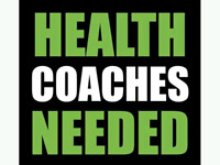 Wellness coaches needed
