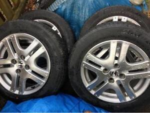 Winter rims Honda Fit CIVIC TOYOTA ECHO YARIS TIRES 195/50R15  H
