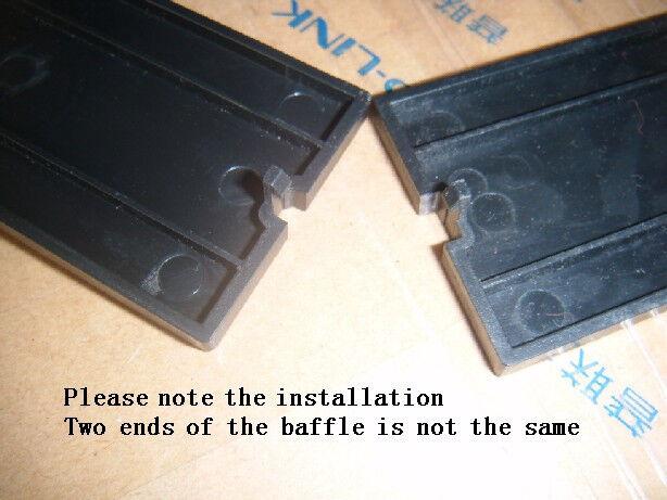 HP Compaq Black Carbon Blank Filler Cover Bezel Z400 Z420 Z440 Z460 166775-004