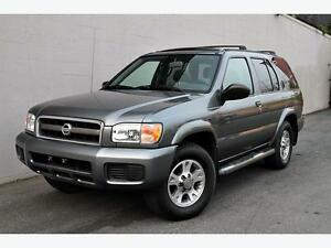 2004 Nissan Pathfinder CHINOOK EDITION-4X4-SUNROOF-AMAZING SHAPE