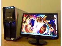 Dell XP630i WiFi Gaming Complete PC Intel Quad Core 9.6Ghz 3GB 160GB Windows 10 or 7 8800 GT Tower