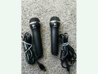 Brand New Logitech Rock band USB Microphones