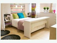 IKEA Malm over-bed or bedside table. Fits over a double bed