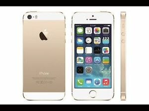 EUC GOLD WHITE APPLE SMART TOUCH iPHONE 5S UNLOCKED NO CONTRACT