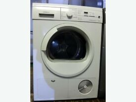 78 Siemens E46.38 7kg White LCD Sensor Drying Condenser Tumble Dryer 1 YEAR GUARANTEE FREE DELIVERY