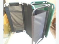 3 Replacement Swinging Seats 2 Black and 1 Green