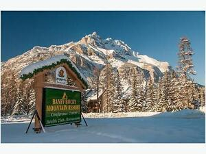 Banff Rocky Mountain Resort Timeshare 1 bedroom Week #9 FOR SALE