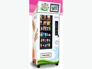 Healthy vending machine for sale $2000
