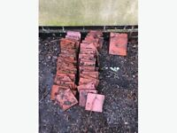 CLAY ROOF TILES X 60