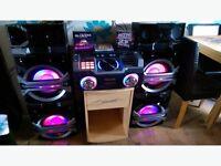 Panasonic SCMAX370 DJ Max music system