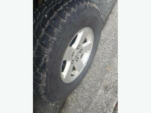 snow and mud tires with removable studs must go OBO