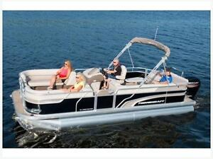 2017 Princecraft Vectra 21 Pontoon Boat In Stock
