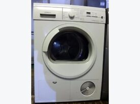 88 Siemens E46.38 7kg White LCD Sensor Drying Condenser Tumble Dryer 1 YEAR GUARANTEE FREE DELIVERY