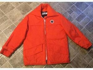 Mustang Floater Jacket with hood; never worn; Large