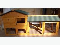 Extra large 2 Tier Rabbit/guinea pig/ferret Enclosure